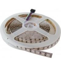 Banda LED 5050 120 SMD/ML Silicon RGB