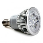Bec Spot LED E14 3x1W High Performance 220V
