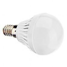 Bec LED E14 Glob Mat 3W Plastic