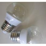 Bec LED Glob Clar E27 3W 220V
