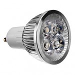 Bec Spot LED GU10 4x1W HP 220V