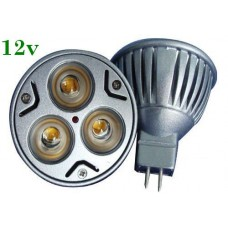 Bec Spot LED MR16 3x1W Power Led 12V