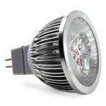 Bec Spot LED MR16 3x1W High Performance 220V