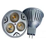 Bec Spot LED MR16 3x1W Power Led 220V
