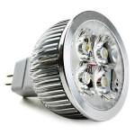 Bec Spot LED MR16 4x1W HP 220V