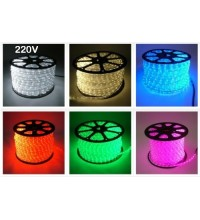 Banda LED 5050 220V 60 SMD/ML Furtun Silicon RGB Premium