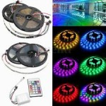 Kit Banda LED 5050 Exterior Rola 5m RGB
