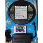 Kit Banda LED 5050 Exterior Rola 5m RGB