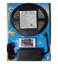 Kit Banda LED 5050 Interior Rola 5m RGB