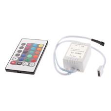 Controller Banda LED RGB 6A 72W 24 Taste IR