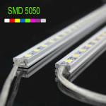 Banda Led Rigida 220V Profil Plastic 60cm