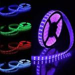 Banda LED RGB 5050 220V 120 SMD/ML Furtun Silicon