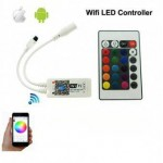 Controller Banda LED RGB 12A 100W WI-FI