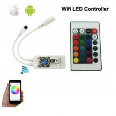 Controller Banda LED RGB 12A  WI-FI 12V