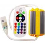 Controller Banda LED RGB 220V 1500W 24 Taste IR