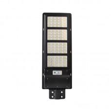 Lampa LED Iluminat Stradal 90W  Panou Solar Senzor si Telecomanda