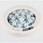 Plafoniera LED 5W Senzor Rotunda Dispersor Clar