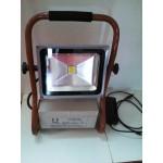 Proiector LED 30W Acumulator si Suport