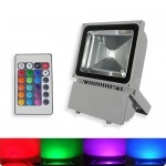 Proiector LED 100W 220V RGB Telecomanda