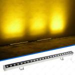 Proiector LED 12W 220V Liniar 30cm Galben