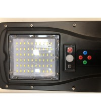 Lampa LED Iluminat Stradal 30W  Panou Solar, Senzor si Telecomanda