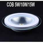 Spot LED 10W Rotund COB Sticla 220V