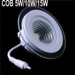 Spot LED 5W Rotund COB Sticla 220V