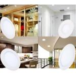 Spot LED 3W Slim Rotund Alb