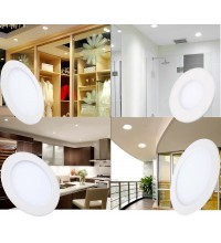 Spot LED 6W Slim Rotund Alb Neutru
