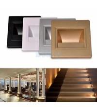 Spot LED Trepte 1,5W Auriu Senzor