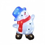 Decoratiune LED Snowman Exterior