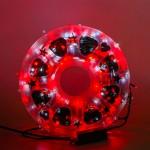 Instalatie Lumini LED 100M Alb/Rosie Exterior