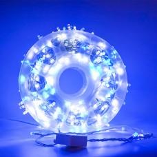 Instalatie Lumini LED 100M Alb/Albastra Exterior
