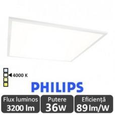 Panou LED 36W 60x60cm Ultra Slim Alb Natural